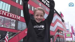 10 jarige Jordy uit Langedijk voor 1 dag de baas bij AZ
