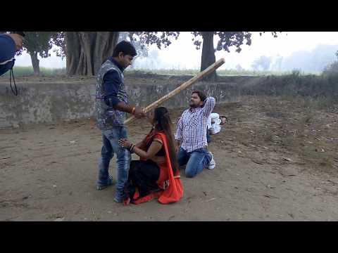गुंजन सिंह को लगी चोट#How To Make Film -Gunjan Singh New Film Suting #बलम रंगबाज़ # Claimex Seen#2018