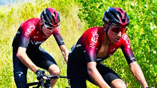 Egan Bernal THERMONUCLEAR ATTACK at Route d'Occitanie : Chris Froome Domestique: Lanterne Rouge