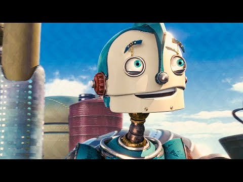 The Cross-Town Express Scene - ROBOTS (2005) Movie Clip