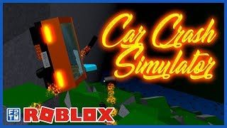 Awesome Crashes 🚓 as I Destroy lots of Emergency 🚒 Vehicles 🚑 in Roblox Car Crash Simulator