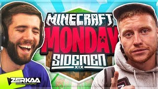 MINECRAFT MONDAY $10,000 TOURNAMENT (WEEK 12) 🔴 (Zerkaa & Behzinga - SIDEMEN Team)