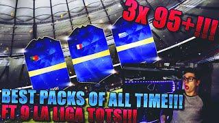 FIFA 16: BEST PACK OPENING (DEUTSCH) - FIFA 16 ULTIMATE TEAM - OMFG 3x 95+ LA LIGA TOTS IN PACKS!