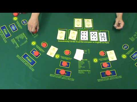 Texas hold em casino table game from monte carlo casino