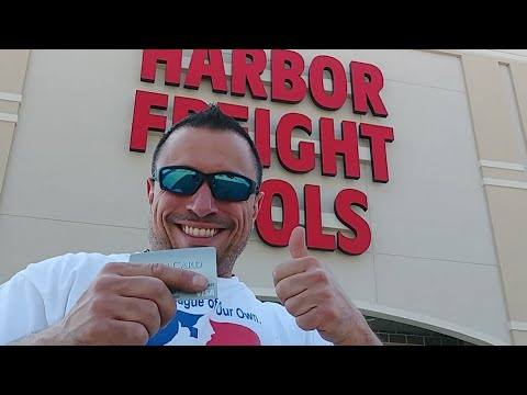 How To Win A Harbor Freight Gift Card!