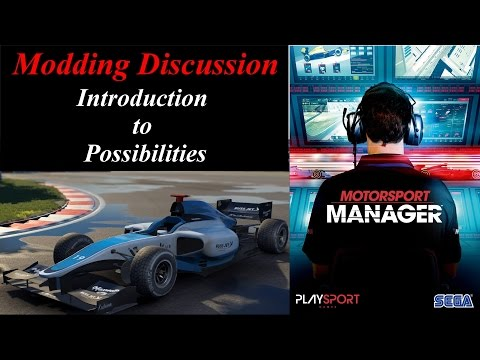 Motorsport Manager Mod Discussion - Introduction