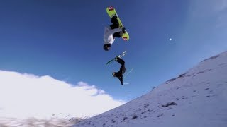 Snowboarding & Skiing At The Red Bull Performance Camp 2012