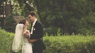 St. John's Methodist & Indian Hills Country Club {Kansas City wedding video}