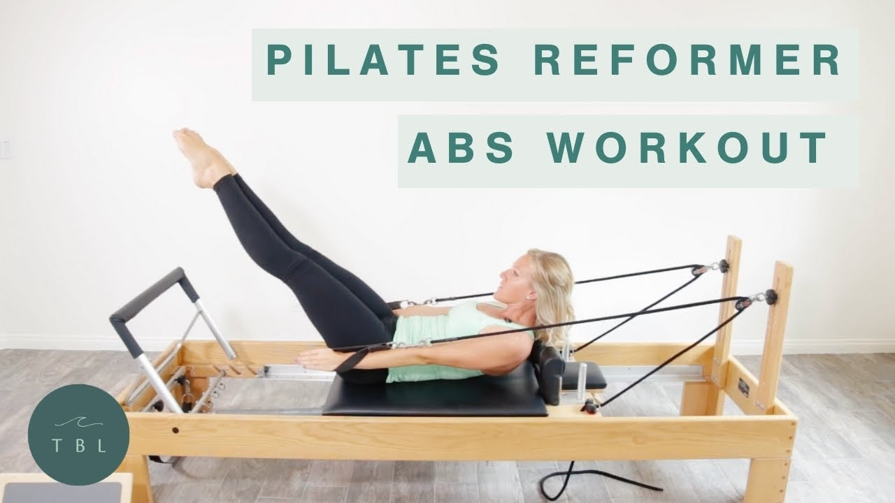 Pilates Reformer Abs Workout Youtube