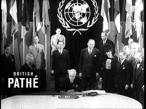 Shaping The Future - U.N. Charter Becomes Reality Aka San Francisco Conference (1945)