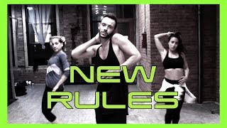 DUA LIPA - NEW RULES | Official HEELS & HIP HOP Dance Choreography Video