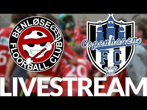 Floorball | LIVESTREAM | Benløse FC vs Copenhagen FC