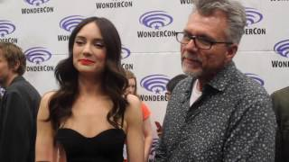 WonderCon 2017: Mallory Jansen and Jeffrey Bell talk AGENTS OF S.H.I.E.L.D., LMDs, and ANGEL
