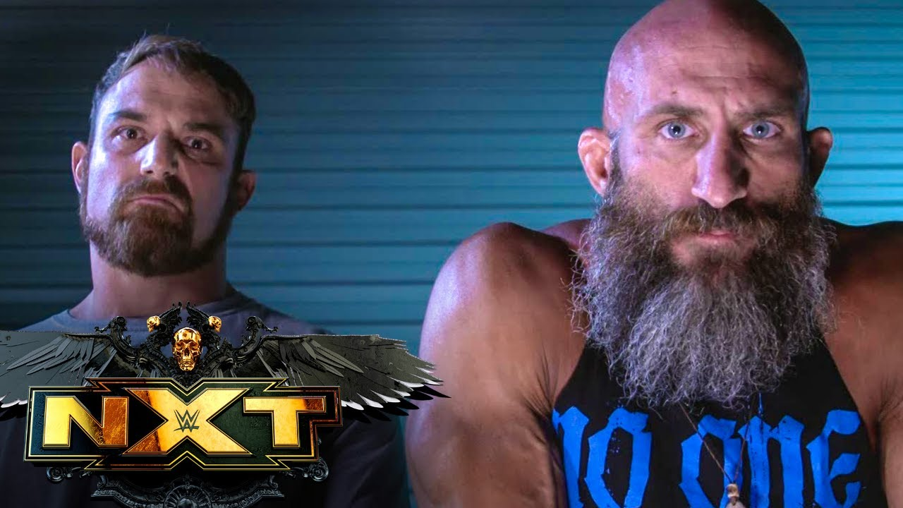 Tommaso Ciampa & Timothy Thatcher, Grizzled Young Veterans trade barbs: WWE NXT, May 25, 2021 - YouTube
