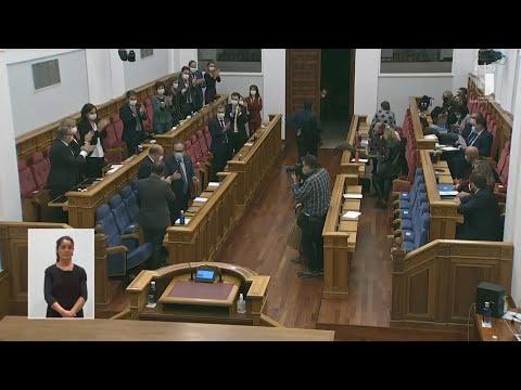 VÍDEO | Iván Rodrigo se salta la disciplina y apoya enmiendas del PP para poner una UCI en Tomelloso