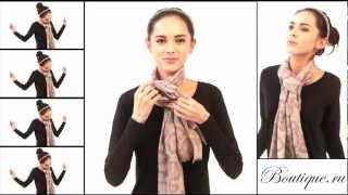 15 способов завязать платок
