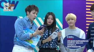 160322 the show live chatting with knk and astro