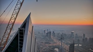 Climbing the Worlds Tallest Residential Building (710m)