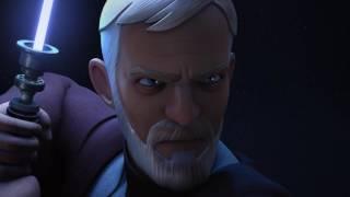 Maul vs Obi Wan Kenobi w/ Duel of Fates & flashbacks
