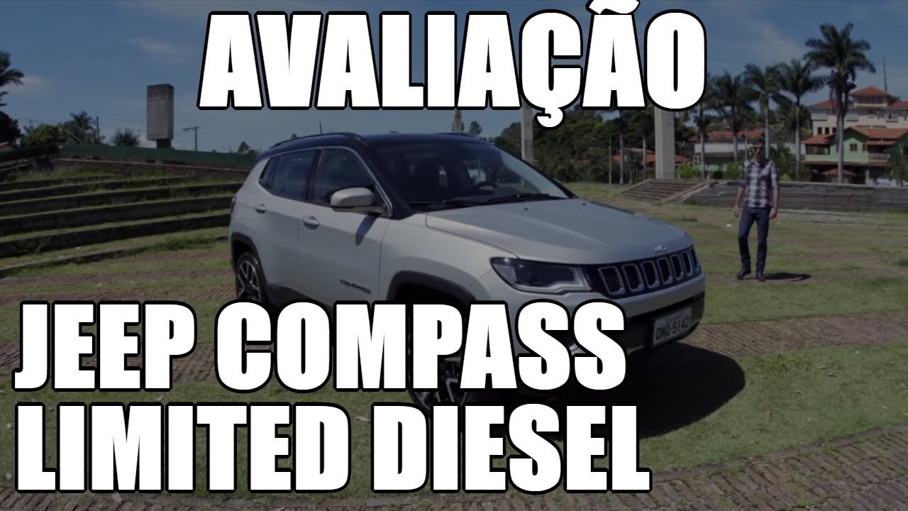TESTE: Jeep Compass Limited Diesel 4x4 - YouTube