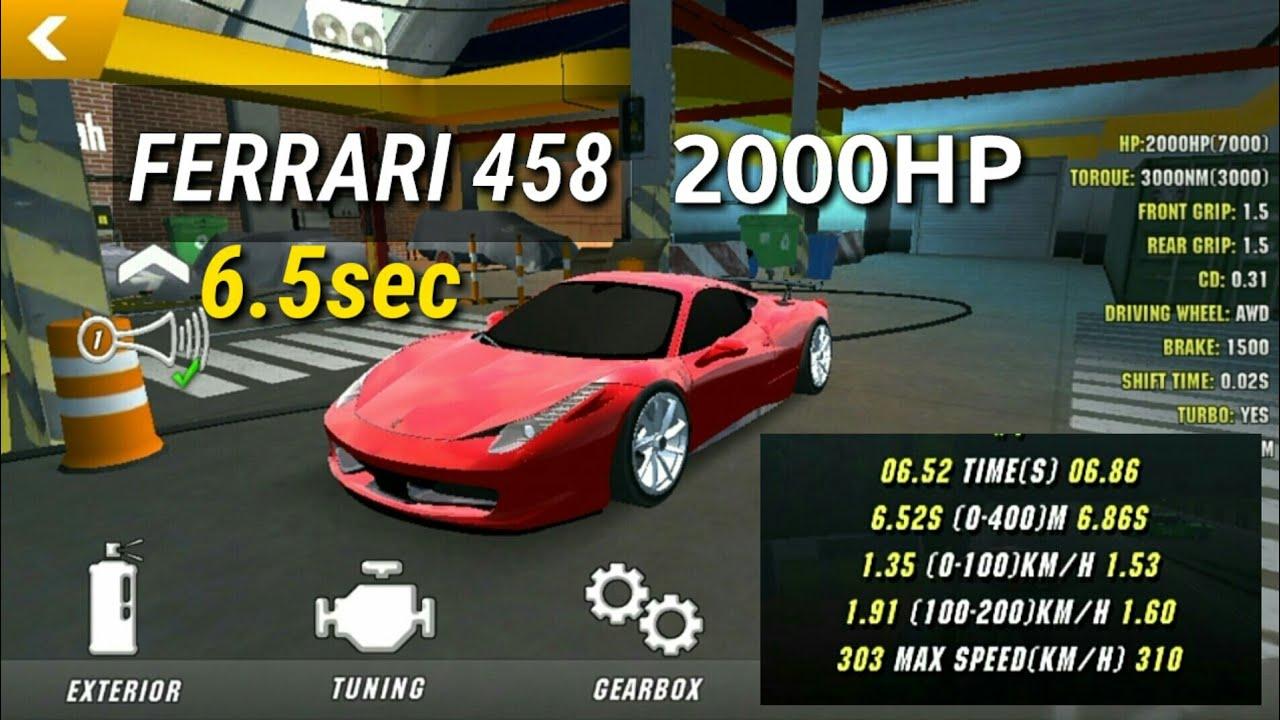 Ferrari 458 6sec Car Parking Multiplayer Malaysia Gear Ratio