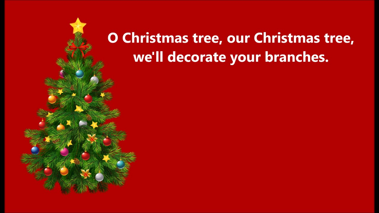 The Littlest Christmas Tree Song 6 O Christmas Tree large REVISED ...