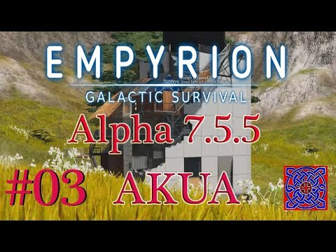 Mining Point Of Interest (POI) :: Empyrion Galactic Survival Akua Gameplay (Alpha 7.5.5) : # 03