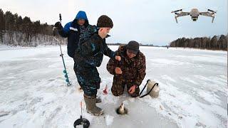 Ловля Щук на Жерлицы ОТКРЫТИЕ Зимнего Сезона 2020 21 года Рыбалка с Сыном день Первый