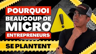 ATTENTION : Le plus gros PIEGE du statut AUTO-ENTREPRENEUR (les raisons de l