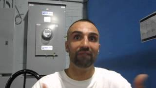 Paulie Malignaggi speaks from the gym as he prepares for Danny Garcia