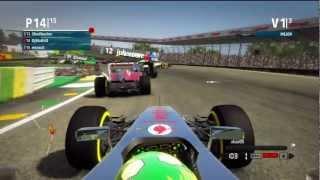 F1 2012   Saliendo el 14º   Remontando + Vuelta Rápida   ONLINE   By DjMaRiiO