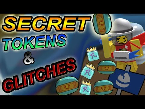 ALL *SECRET* TOKENS & GLITCHES IN GAME- Roblox bee swarm simulator