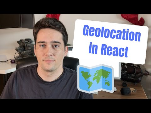 Get User Location In React Using HTML And Google Maps APIs