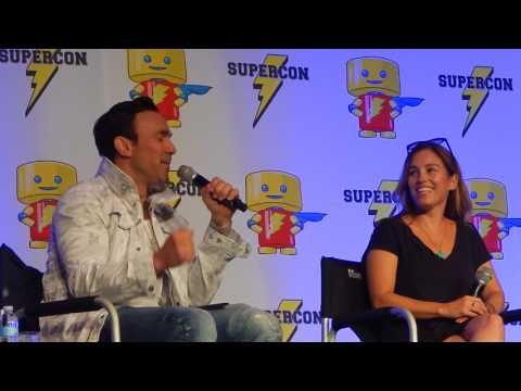 Power Rangers Jason David Frank & Amy Jo Johnson Panel Florida Supercon Part 1