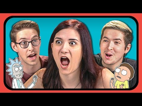 YouTubers React To Rick And Morty Anime