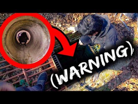 Deadly spider infested tunnel to secret underground rebel bunker