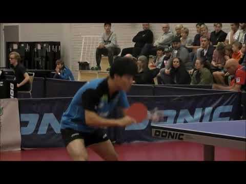 Satoshi Aida vs Anders Eriksson Swedish League 2017