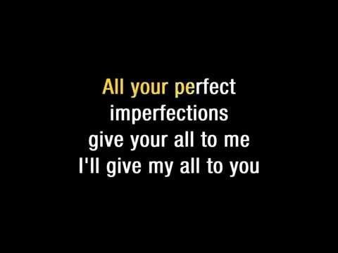 John legend   All of me Lyrics & Backing Track