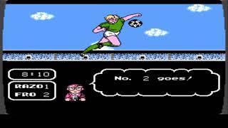 【NES】TECMO CUP Captain Tsubasa NES English Version Game 4 and Game 3
