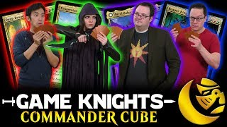 Commander Cube w/ Brandon Sanderson l Game Knights #31 l Magic: the Gathering EDH Gameplay