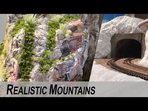 Realistic mountains ULTRA – Detailed Guide DIY
