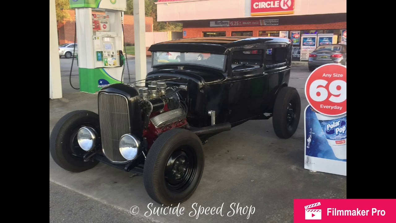 1931 FORD MODEL A TRADITIONAL HOT ROD RAT ROD CHOPPED FOR SALE - YouTube