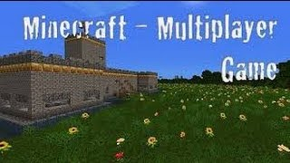 Minecraft Multiplayer survival lets play part 1 (Xbox360)