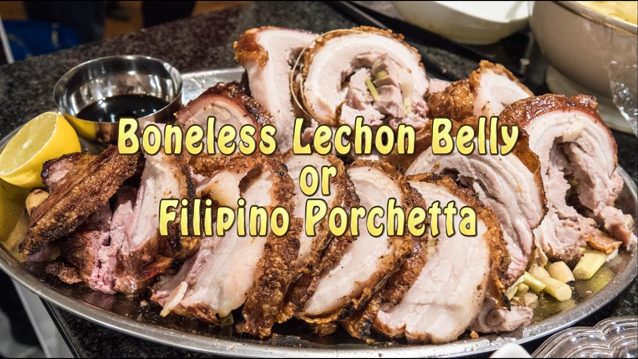 how to cook lechon belly