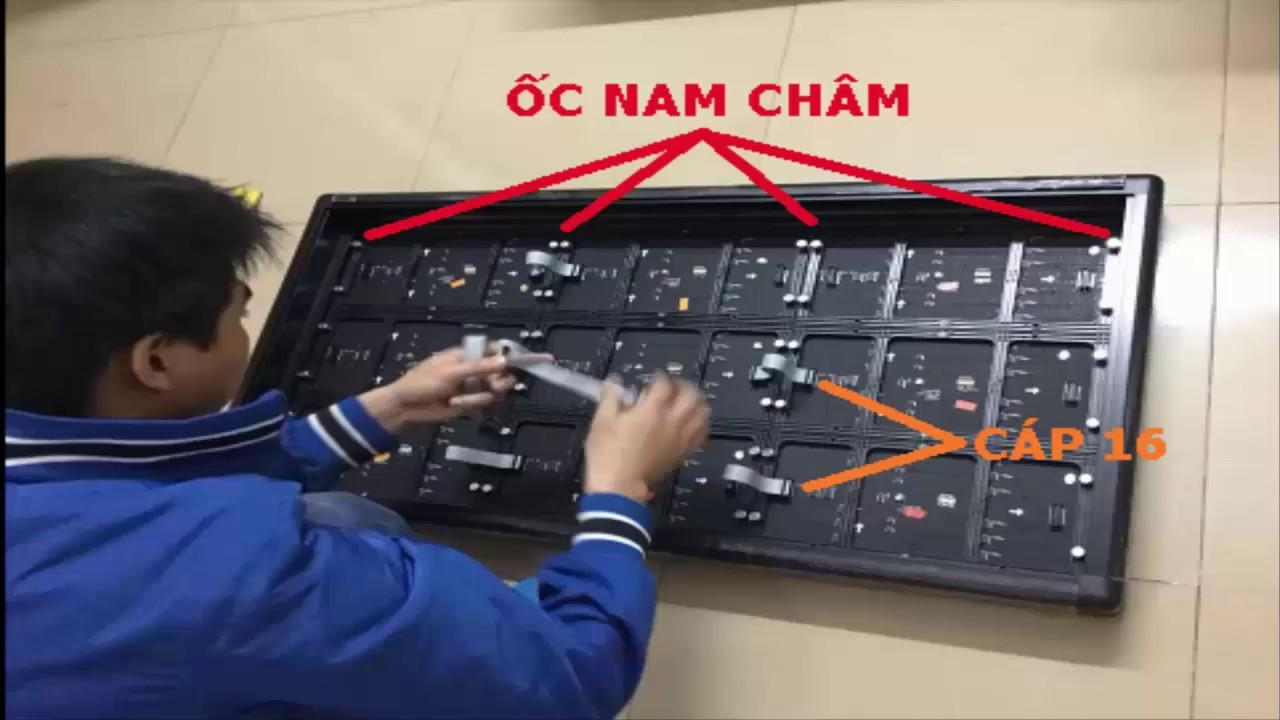 Hưỡng Dẫn Lắp Ráp Bảng led Ma Trận P10, P5, P6, P3, P4 Full Color [LED Bảo  Bình]