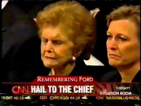 Private Service of President Gerald R. Ford CNN Coverage  1-2-2007