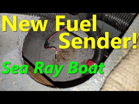 Fuel Sender Replacement   Sea Ray Boat