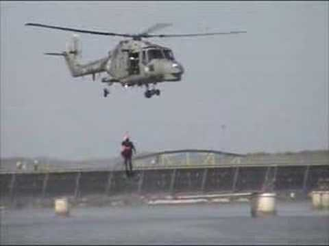 Super Lynx demonstration by Portuguese Marine