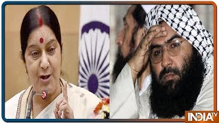Sushma Swaraj's Dire Warning To Pakistan, Said: Assign Masood Azhar To India Immediately