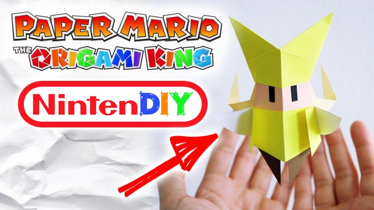 ¡Nintendo lanza tutoriales gratuitos para crear tus personajes favoritos en Origami!